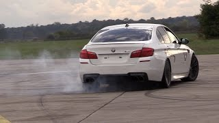 Download 700HP BMW M5 F10 HPT Stage 2+ - Accelerations, Donuts & Drag Racing! Video