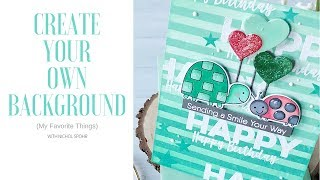 Download Create Your Own Background (MFT Stamps) Video