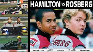 Download Lewis Hamilton vs Nico Rosberg | Karting World Cup 2000 Video
