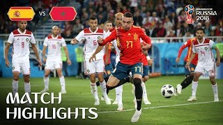 Download Spain v Morocco - 2018 FIFA World Cup Russia™ - Match 36 Video