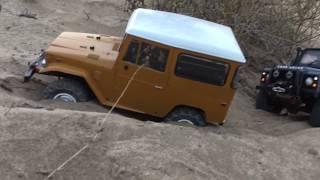 Download Oman rc car off road 4x4 Defandar 90. Fj40 Blazer Video