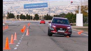 Download Hyundai Kona 2018 - Maniobra de esquiva (moose test) y eslalon | km77 Video