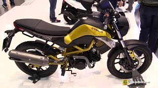 Download 2016 Kymco K Pipe 125 - Walkaround - 2015 EICMA Milan Video