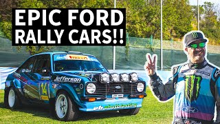Download Vintage Ford Rally Cars Get Raced! Epic Collection of Escorts, WRC Focus, + More at RallyLegend 2019 Video