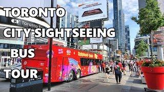 Download TORONTO - CITY SIGHTSEEING BUS TOUR 2019 4K Video