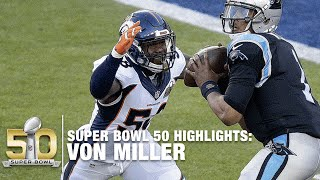 Download Von Miller Super Bowl 50 MVP Highlights | Panthers vs. Broncos | NFL Video