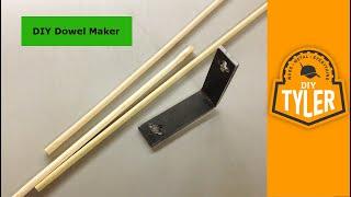 Download Make a Dowel Maker 010 Video