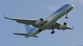 Download Plane Spotting at Glasgow Airport | 747 777 757s & More Video
