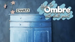 Download How to - Ombre with chalk paint Video