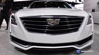 Download 2017 Cadillac CT6 Plug-In Hybrid - Exterior and Interior Walkaround - Debut at 2016 LA Auto Show Video