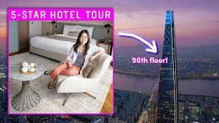 Download 5-STAR HOTEL TOUR in Korea ⭐ 90th Floor Room! 😱 Video