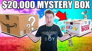 Download $10 VS $20,000 EBAY MYSTERY BOX CHALLENGE!! 📦⁉️ Cash, Poo Toys & More Video