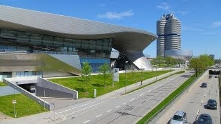 Download Driving To BMW Welt (World) Munich, Germany Video