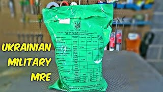Download Tasting Ukrainian Military MRE (Meal Ready to Eat) Video