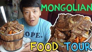 Download TRADITIONAL Mongolian Food Guide in Ulaanbaatar Mongolia Video