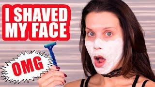 Download I SHAVE MY FACE ... OMG! Video