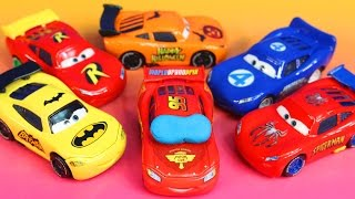 Download Disney Pixar Cars Lighnting McQueen dreams helping Sally Batman Robin Spider-Man Toy story Imaginext Video