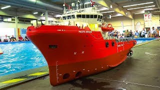 Download STUNNING RC MODEL SCALE OFFSHORE SPECIAL SHIPS BOATS IN DETAIL AND ACTION!! Video