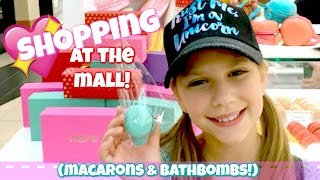 Download Shopping at the Mall for Macarons and Bathbombs! Woops and Hallmark Video