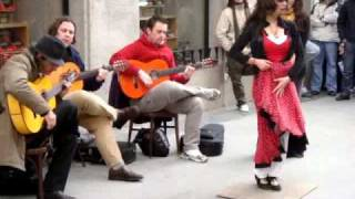 Download Flamenco on the Streets of Madrid Video