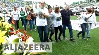 Download Brazilians mourn plane crash victims Video