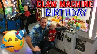 Download Birthday Party!! Giant Claw Machines & Arcade Games for Kids Video