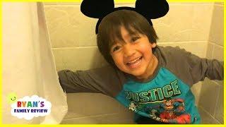 Download Ryan's Family plays Hide And Seek at Disney Hotel Video