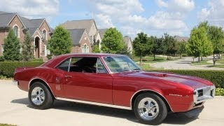 Download 1967 Pontiac Firebird Classic Muscle Car for Sale in MI Vanguard Motor Sales Video