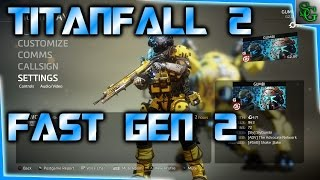 Download Titanfall 2 - How to level & rank up fast, what happens after Regen to Gen 2 Video