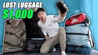 Download I Bought $1000 Lost Luggage at a Storage Unit Auction and Found This… (Buying Lost Luggage Auction) Video