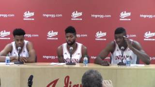 Download Jones, Johnson and Bryant talk IU's win vs. Mississippi Valley State Video