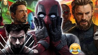 Download Deadpool Makes Fun of Logan and Avengers - Ryan Reynolds Funny - 2017 Video