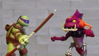 Download TMNT 2013 Stop Motion S01E03- Fish Face Video
