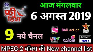 dd free dish new update channel list ( in hindi ) Free Download