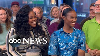 Download Tika Sumpter and Amber Riley open up about 'Nobody's Fool' Video