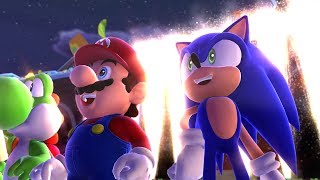 Download Mario & Sonic at the Sochi 2014 Olympic Winter Games - Playthrough [Part 1 - Leg. Showdown - Area 1] Video
