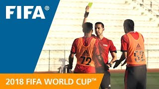 Download Referees ready for the 2018 FIFA World Cup™ Video