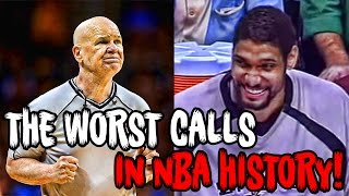 Download The 12 Most RIDICULOUS Calls In NBA History! Video