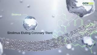 Download Genoss DES Sirolimus Eluting Coronary Stent System Video