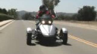 Download 2008 Can-Am Spyder ″Motorcycle″ Review Test Video