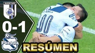 Download QUERÉTARO vs PUEBLA 0-1 ► [RESUMEN y GOLES] Liga MX Jornada 9 Video