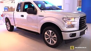 Download 2017 Ford F150 XL Super cab - Exterior and Interior Walkaround - 2017 NY Auto Show Video