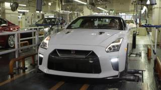 Download 2017 Nissan GT-R at Nissan Tochigi factory Video