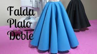 Download Falda doble circular larga Video