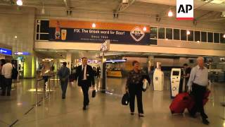Download Strike at Athens airport, passengers stranded Video