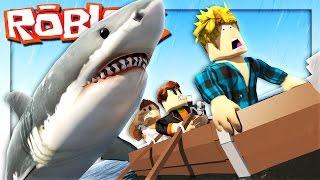 Download Roblox Adventures - ROBLOX SHARK ATTACK! (Roblox Jaws Shark Attack) Video