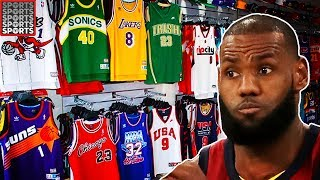 Download What LeBron James Looks Like in EVERY NBA Uniform Video