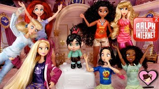 Download Disney Princess Dolls from Ralph 2 Breaks the Internet Toys Video