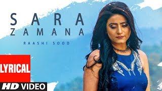 Download Sara Zamana: Raashi Sood (Full Lyrical Song) Navi Ferozepur Wala | HIten | Latest Punjabi Songs 2018 Video