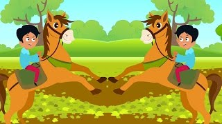 Download Chal Mere Ghode | Hindi Rhyme For Kids | Song For Children | baby rhymes | Hindi Poem | Nursery Song Video